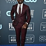 Sterling K. Brown at the 2020 Critics' Choice Awards