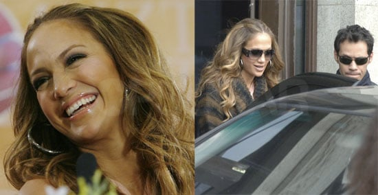 Photos of Jennifer Lopez and Marc Anthony in Moscow