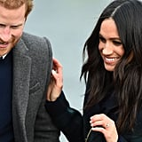 Prince Harry and Meghan Markle in Edinburgh February 2018