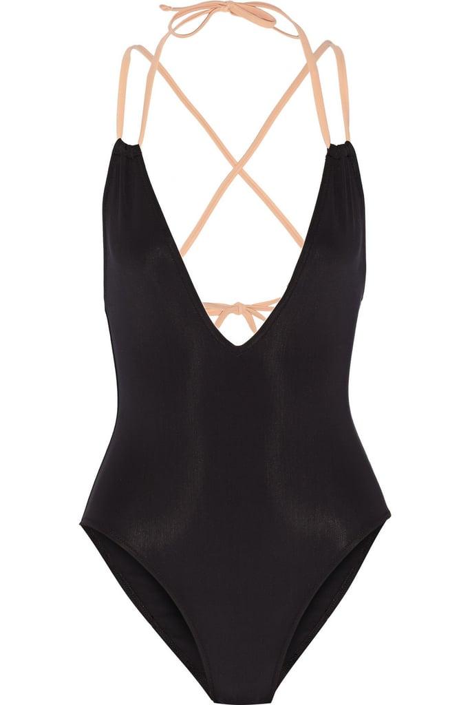 A Sleek Swimsuit