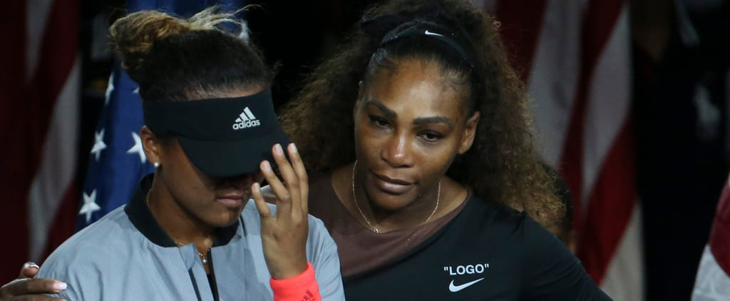Serena Williams and Naomi Osaka 2018 US Open Match