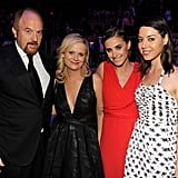 Louis CK, Amy Poehler, Alexi Ashe, and Aubrey Plaza got together at the Time 100 gala in NYC.