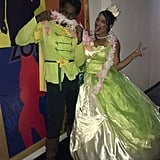 Tiana and Prince Naveen From The Princess and the Frog