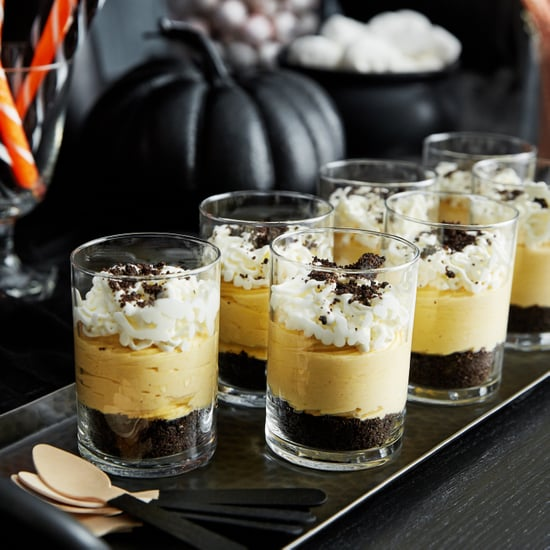 No-Bake Pumpkin Cheesecake With Oreo Crust