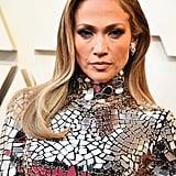 Jennifer Lopez With a Sleek Wave