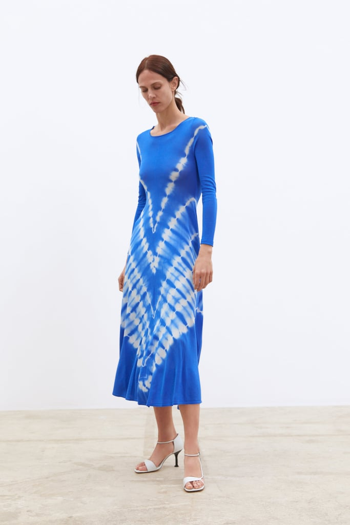 Zara Knit Tie Dye Dress