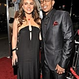 Ashton and Great Chef Natalie Premiere No Strings Attached in LA