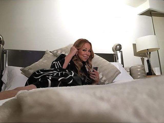 Mariah Carey's Malibu Airbnb 2015