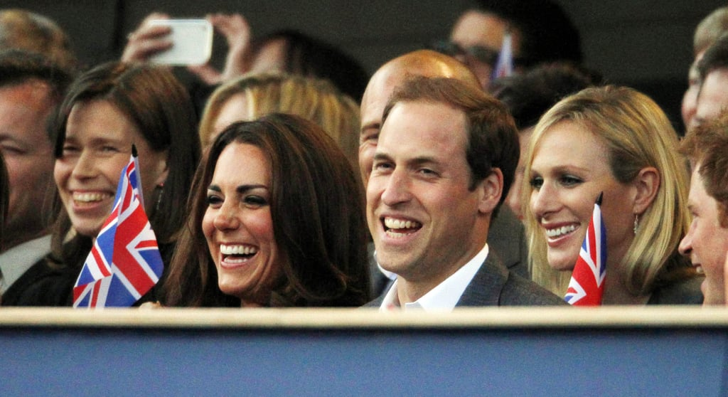 Kate Middleton and Zara Tindall at Diamond Jubilee Concert in 2012