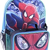 Marvel Spider-Man Backpack With Lunch Box