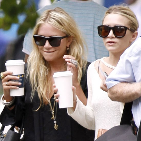 Mary-Kate Olsen and Ashley Olsen on the Upper East Side