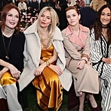 Julianne Moore, Sienna Miller, Zoey Deutch, and Maggie Q