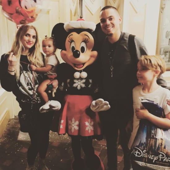 Ashlee Simpson and Evan Ross at Disneyland Photos 2016