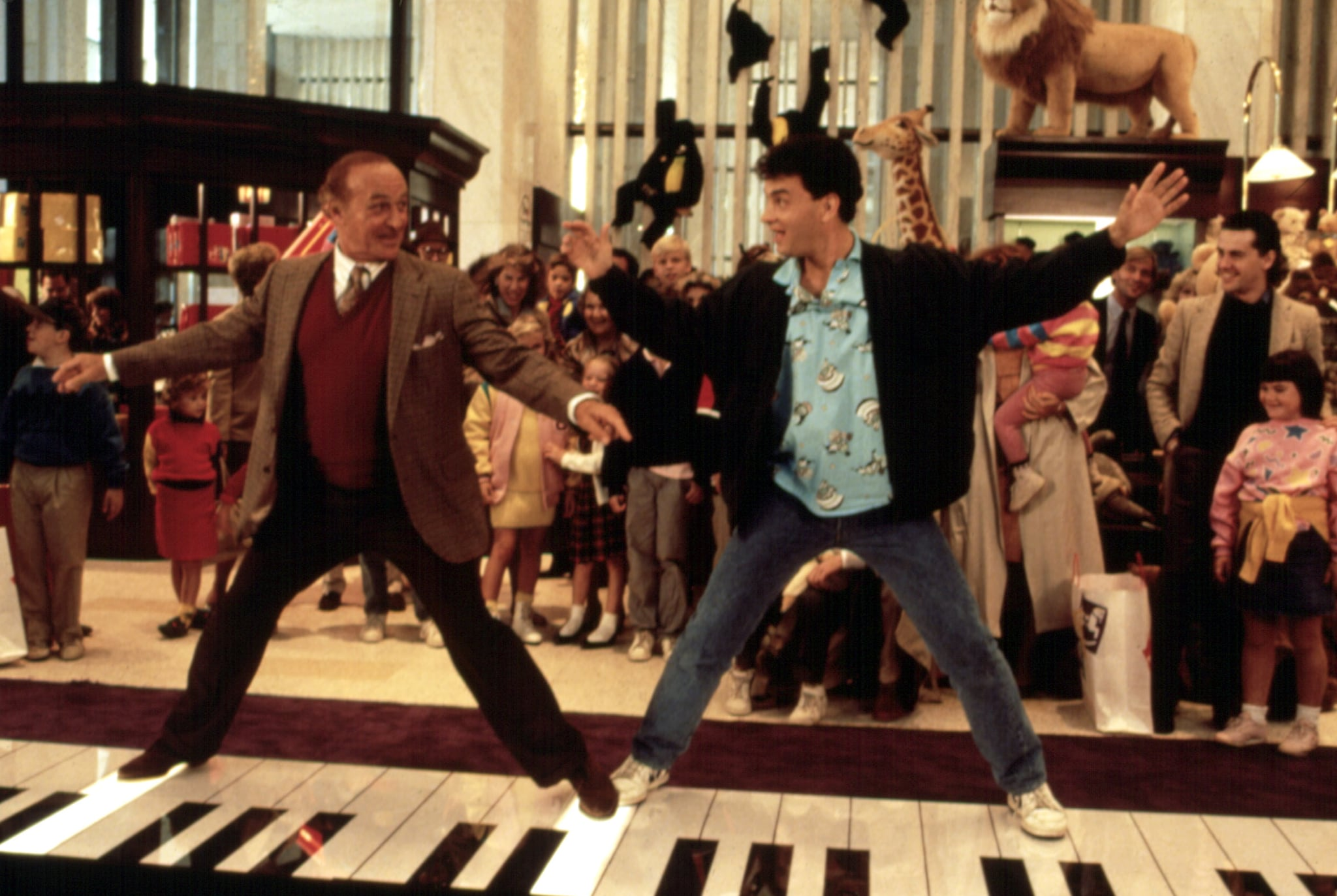 BIG, ROBERT LOGGIA, TOM HANKS, 1988. TM AND COPYRIGHT (C) 20TH CENTURY FOX FILM CORP. ALL RIGHTS RESERVED. COURTESY: