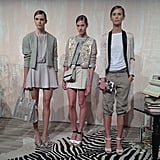 Alice + Olivia stuck with a sophisticated color palette.