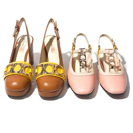 Orla Kiely Spring 2015 Clothes and New Clarks Shoes