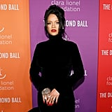 Rihanna's Red Nail Polish Color