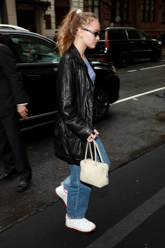 How to Wear Jeans: Lily-Rose Depp