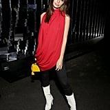 Emily Ratajkowski's Red Shirt February 2019