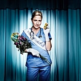 Nurse Jackie Five nominations total, including:  Outstanding lead actress in a comedy series, Edie Falco Outstanding supporting actress in a comedy series, Merritt Wever Outstanding guest actor in a comedy series, Bobby Cannavale Outstanding casting in a comedy series