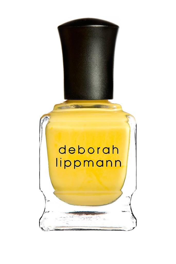 Deborah Lippmann Nail Color in Lively Luminous Lemon