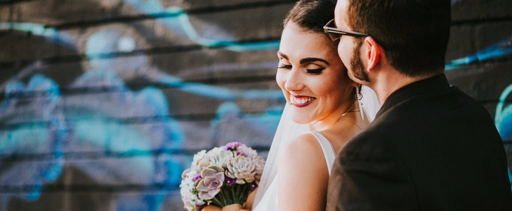 This Gorgeous DIY Festival-Inspired Wedding Has Succulents and Star Wars