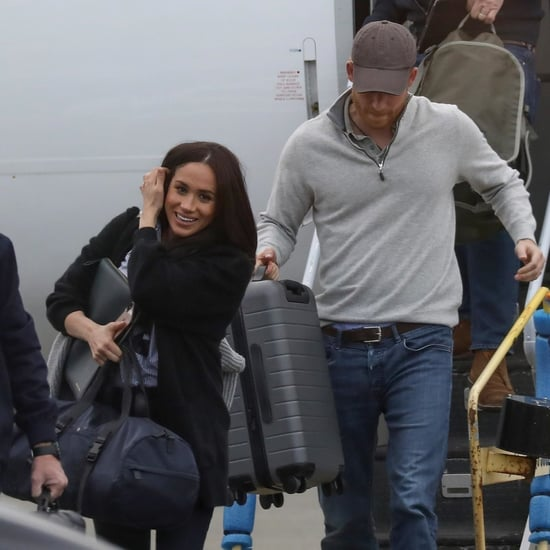 Meghan Markle Wore Rothy's at the Airport With Prince Harry