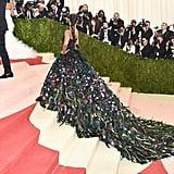 Best Photos of Zoe Saldana's Dress at Met Gala 2016