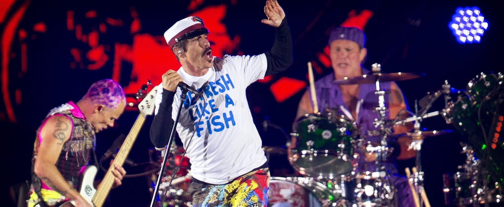 Red Hot Chili Peppers Abu Dhabi UFC Performace Yas Island