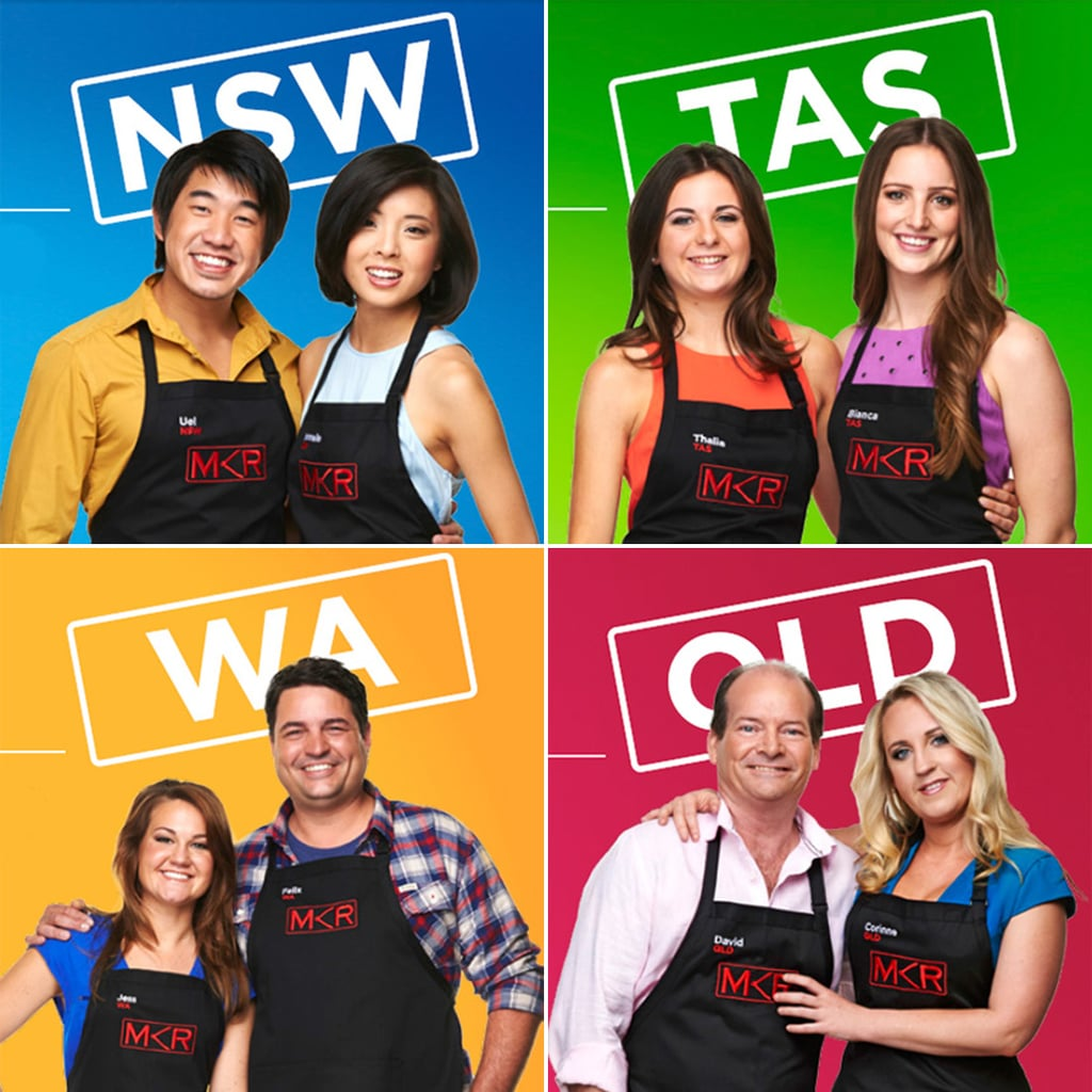 My kitchen rules 2014 meet the contestants popsugar for Y kitchen rules 2018