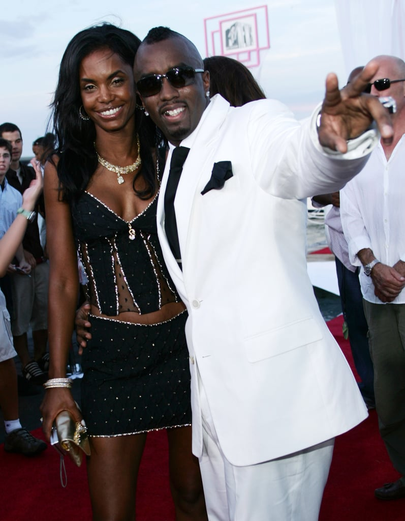 Diddy and Kim Porter, 2004