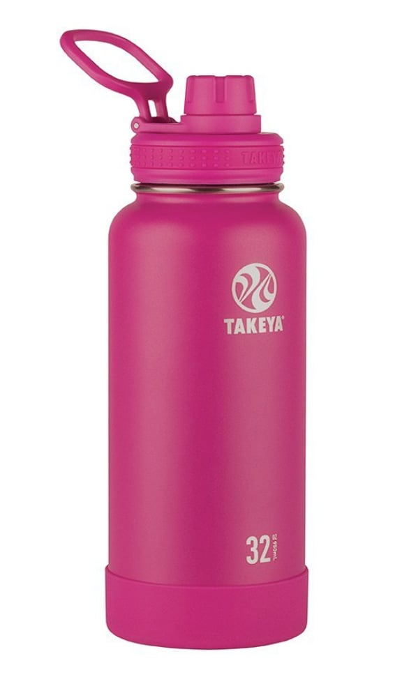Takeya Water Bottle With Straw Lid