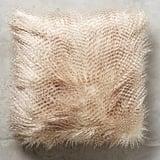 Anthropologie Animalia Faux-Fur Pillow ($58)