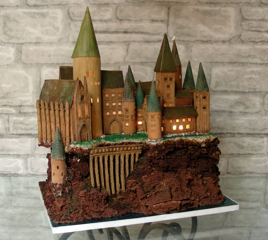 harry potter gingerbread house ideas popsugar tech. Black Bedroom Furniture Sets. Home Design Ideas