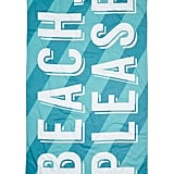 Nordstrom Rack Printed Beach Towel