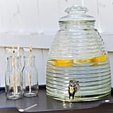 Bee-Themed Drinks Table