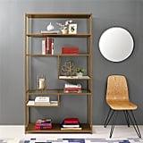 Dorel Living Moriah Geometric Bookcase Etagere