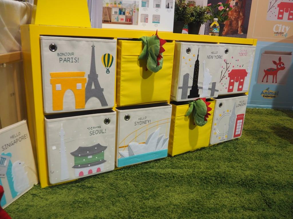 KaiKai and Ash Toy Storage Boxes