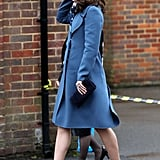 Kate Middleton Blue Sportmax Coat