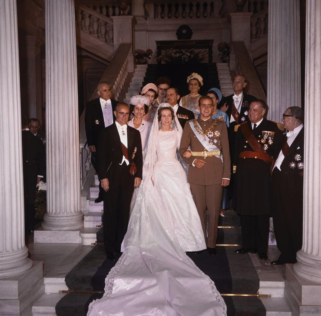 Queen Sofia of Spain Wedding Pictures