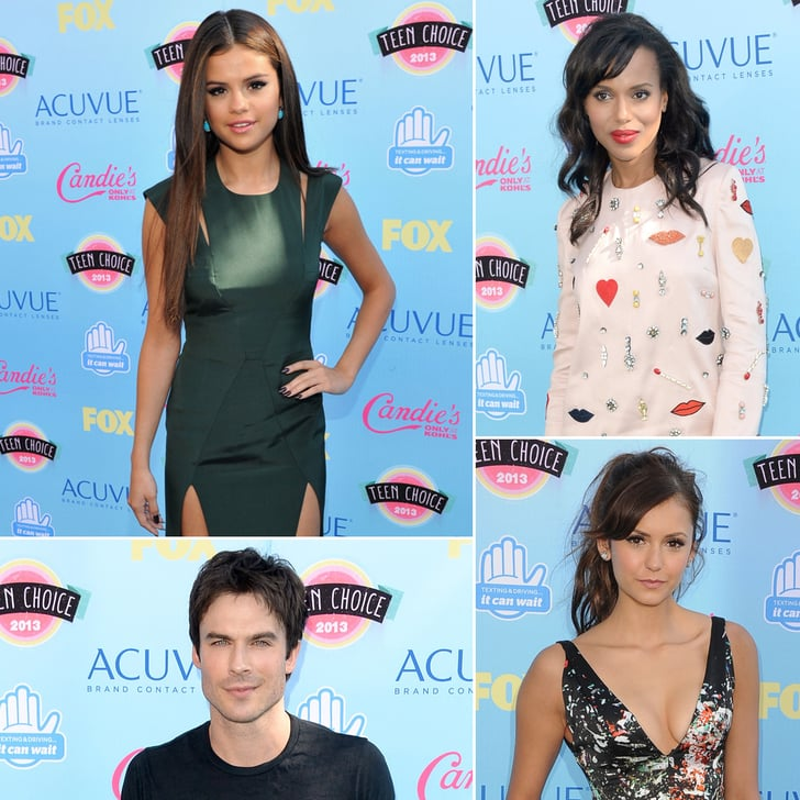 See All the Stars Arriving at the Teen Choice Awards!