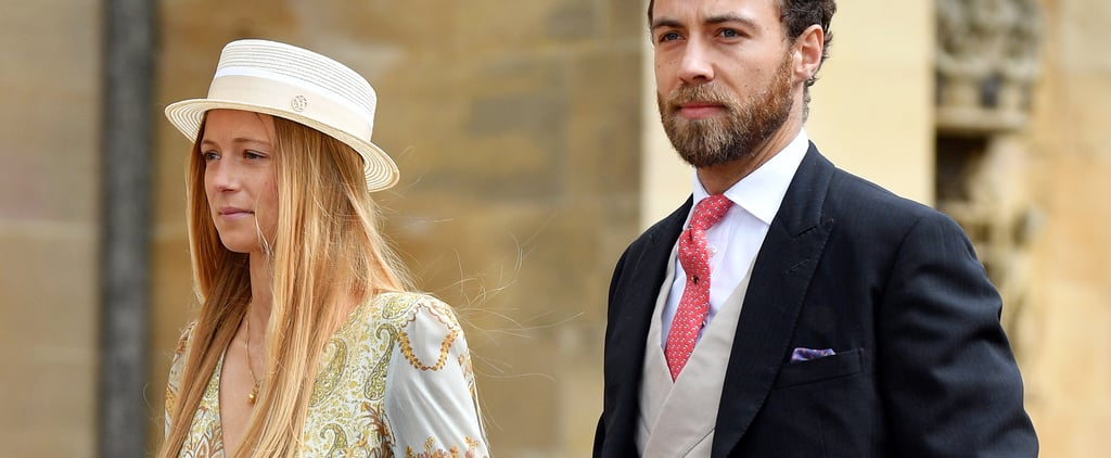James Middleton Girlfriend H&M Dress at Royal Wedding 2019