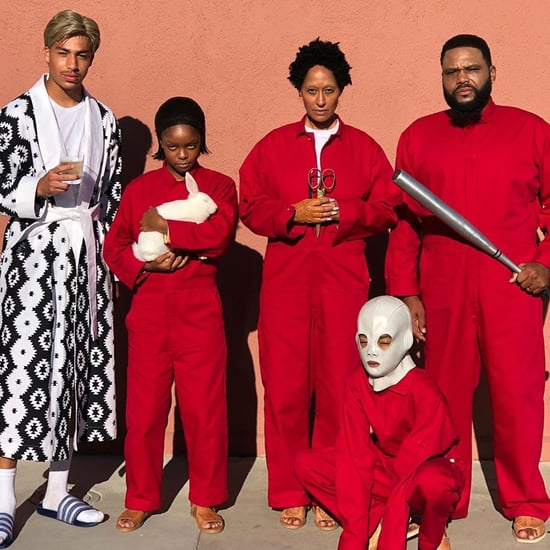 The Black-ish Cast Dressed as the Tethered For Halloween