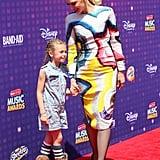 Gwen Stefani and Blake Shelton at Radio Disney Music Awards