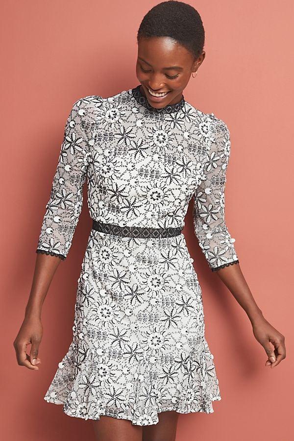 628b6fc996e ML Monique Lhuillier Canto Lace Dress