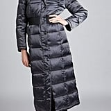 ABS Long Puffy Hooded Coat ($160)