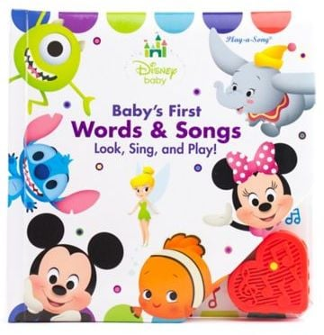 Play-a-Song Baby's First Words & Songs Look, Sing and Play! Board Book
