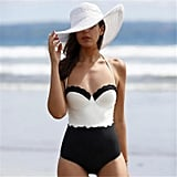 Girl12 Queen Backless One-Piece Swimsuit
