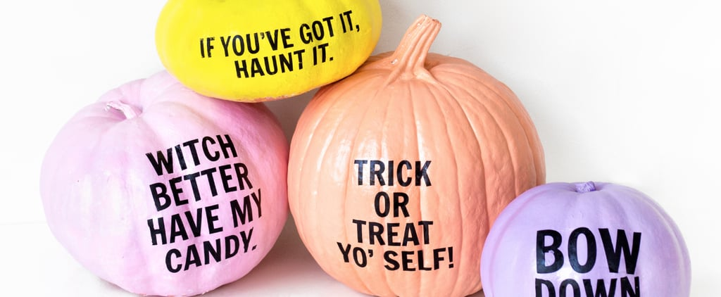 Make Trick-or-Treaters Giggle With This Hilarious Pumpkin Idea