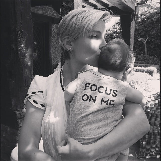 Elsa Pataky posted another sweet family photo with one of her twin sons. Source: Instagram user elsapatakyconfidential